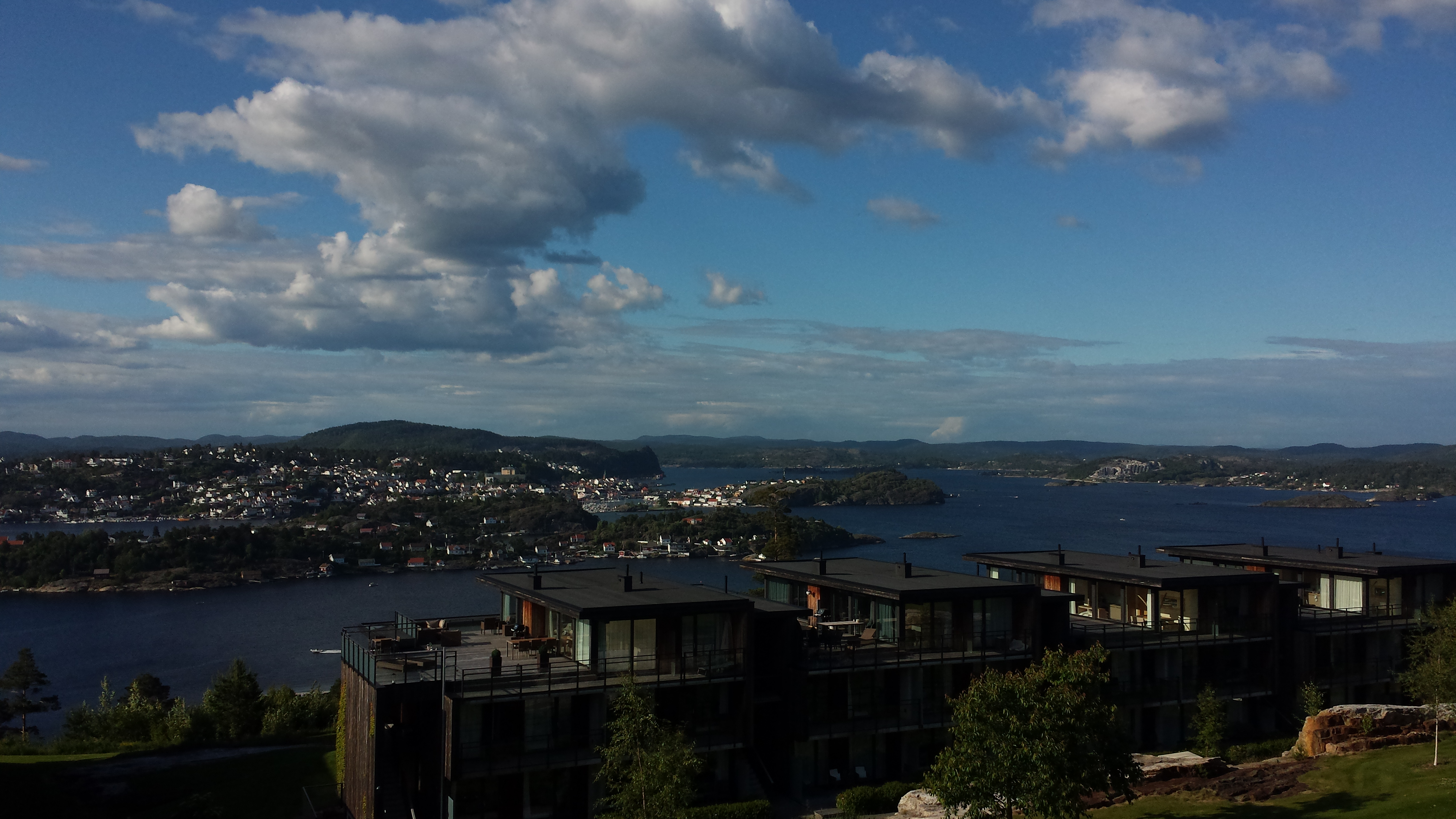 Utsikten fra vår fantastiske leilighet