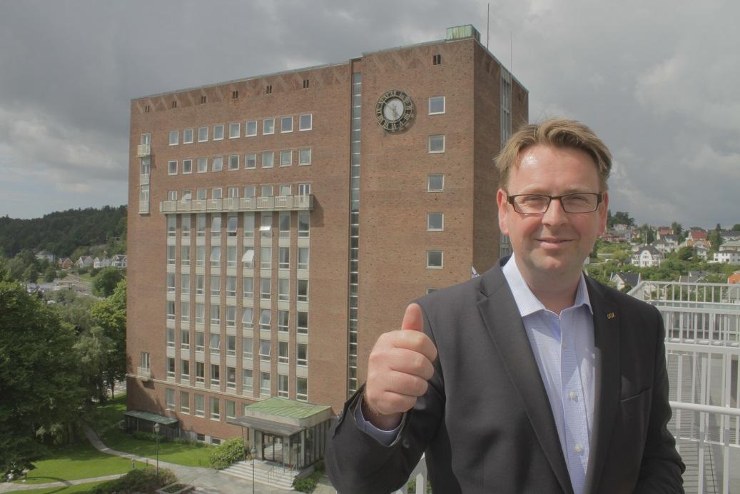 Thomas Ødegård er fan av god service