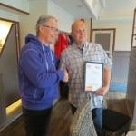 Reiselivssjef Trond Øverås og Vertskapsansvarlig Kyle Parsonage ved Visit Tromsø-Regionen