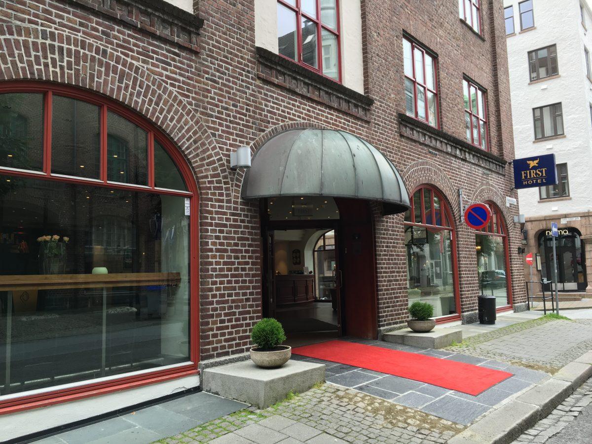 First Hotel Marin på Bryggen i Bergen.